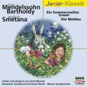 Cover-Bild zu Ein Sommernachtstraum / Die Moldau. Klassik-CD von Mendelssohn-Bartholdy, Felix