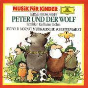 Cover-Bild zu Peter und der Wolf op. 67 / Musikalische Schlittenfahrt F-dur. CD von Prokofjew, Sergei