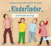 Cover-Bild zu Kinderlieder aus Deutschland und Europa von Schindler, Peter