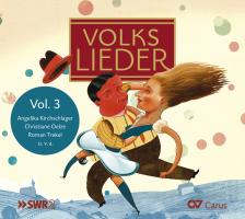 Cover-Bild zu Volkslieder Vol. 3 von Kirchschlager, Angelika (Hrsg.)