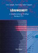 Cover-Bild zu Lösungsheft - Investitionsrechnung von Staehelin, Erwin