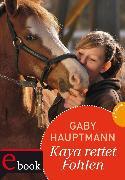 Cover-Bild zu Kaya - frei und stark 9: Kaya rettet Fohlen (eBook) von Hauptmann, Gaby