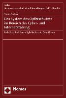 Cover-Bild zu Gerhold, Sönke: Das System des Opferschutzes im Bereich des Cyber- und Internetstalking