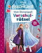 Cover-Bild zu Mein Stickerspaß Disney Die Eiskönigin 2: Vorschulrätsel von The Walt Disney Company (Illustr.)
