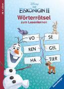 Cover-Bild zu Disney Die Eiskönigin 2: Wörterrätsel zum Lesenlernen von Johannsen, Anne