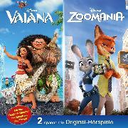 Cover-Bild zu Disney / Doppel-Box - Vaiana / Zoomania (Audio Download) von Bingenheimer, Gabriele