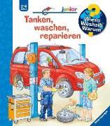 Cover-Bild zu Tanken, waschen, reparieren von Nahrgang, Frauke