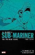 Cover-Bild zu Everett, Bill: Timely's Greatest: The Golden Age Sub-mariner By Bill Everett - The Pre-war Years - Omnibus