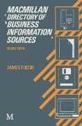 Cover-Bild zu Macmillan Directory of Business Information Sources (eBook) von Tudor, James (Hrsg.)