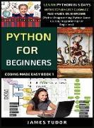 Cover-Bild zu Python For Beginners von Tudor, James