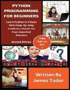 Cover-Bild zu Python Programming For Beginners von Tudor, James