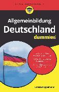 Cover-Bild zu Allgemeinbildung Deutschland für Dummies (eBook) von Pöppelmann, Christa