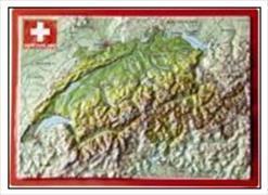 Cover-Bild zu 32440; AK Geo Relief: Schweiz Switzerland