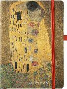 Cover-Bild zu Klimt 16x22 cm - Blankbook - 192 blanko Seiten - Hardcover - gebunden