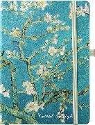 Cover-Bild zu van Gogh 16x22 cm - Blankbook - 192 blanko Seiten - Hardcover - gebunden