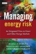 Cover-Bild zu Managing Energy Risk von Burger, Markus