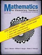 Cover-Bild zu Mathematics for Elementary Teachers: A Contemporary Approach von Musser, Gary L.