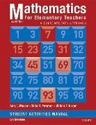 Cover-Bild zu Mathematics for Elementary Teachers: A Contemporary Approach 10e Student Activity Manual von Musser, Gary L.