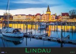 Cover-Bild zu Lindau und der Bodensee 2021 von Soedher, Jakob Maria (Fotogr.)