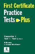 Cover-Bild zu First Certificate Practice Test Plus 1 FCE Practice Tests Plus 1 Audio Cassettes (3) - First Certificate Practice Tests Plus von Kenny, Nick