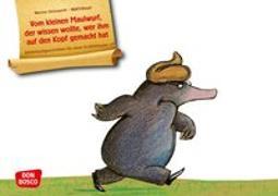 Cover-Bild zu Vom kleinen Maulwurf, der wissen wollte, wer ihm auf den Kopf gemacht hat. Kamishibai Bildkartenset von Holzwarth, Werner
