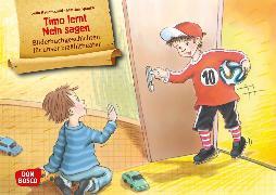 Cover-Bild zu Timo lernt Nein sagen. Kamishibai Bildkartenset von Hauenschild, Lydia