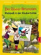 Cover-Bild zu Der Räuber Hotzenplotz. Malspaß in der Räuberhöhle (Ausmalen, weitermalen, selber malen) von Preußler, Otfried