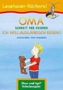 Cover-Bild zu OMA, schreit der Frieder. ICH WILL AUSLÄNDISCH REDEN! von Mebs, Gudrun