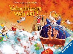 Cover-Bild zu Weihnachtsmann, wach auf! (eBook) von Uebe, Ingrid