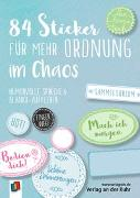 """Cover-Bild zu 84 Sticker für mehr Ordnung im Chaos """"Live-love-teach"""" von Redaktionsteam Verlag an der Ruhr (Hrsg.)"""