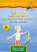 Cover-Bild zu OMA, schreit der Frieder. ICH WASCH MICH NICHT! / Silbenhilfe von Mebs, Gudrun