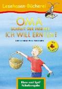 Cover-Bild zu OMA, schreit der Frieder. ICH WILL ERNTEN! / Silbenhilfe. Schulausgabe von Mebs, Gudrun