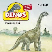 Cover-Bild zu Fohrmann, Petra: Die Dinos sind da, Folge 1: Brachiosaurus (Audio Download)