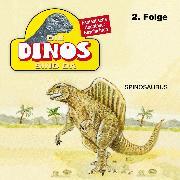 Cover-Bild zu Fohrmann, Petra: Die Dinos sind da, Folge 2: Spinosaurus (Audio Download)
