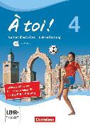 Cover-Bild zu À toi !, Vier- und fünfbändige Ausgabe, Band 4, Carnet d'activités mit CD-Extra - Lehrerfassung, CD-ROM und CD auf einem Datenträger von Herzog, Walpurga
