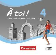 Cover-Bild zu À toi !, Vier- und fünfbändige Ausgabe, Band 4, Unterrichtsvorbereitung à la carte, CD-ROM