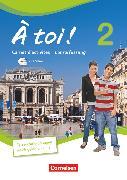 Cover-Bild zu À toi !, Vier- und fünfbändige Ausgabe, Band 2, Carnet d'activités mit Audios online und CD-Extra - Lehrerfassung, CD-ROM und CD auf einem Datenträger von Héloury, Michèle