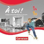 Cover-Bild zu À toi !, Fünfbändige Ausgabe, Band 1A und 1B, Unterrichtsvorbereitung à la carte, CD-ROM