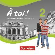 Cover-Bild zu À toi !, Vier- und fünfbändige Ausgabe, Band 2, Unterrichtsvorbereitung à la carte, CD-ROM