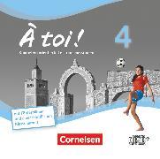 Cover-Bild zu À toi !, Vier- und fünfbändige Ausgabe, Band 4, Leistungsmessungen, CD-Extra, CD-ROM und CD auf einem Datenträger