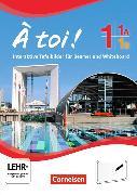 Cover-Bild zu À toi! 1A und 1B. Fünfbändige Ausgabe. Interaktive Tafelbilder für Whiteboard und Beamer