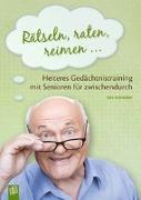 Cover-Bild zu Rätseln, raten, reimen ? von Schröder, Ute