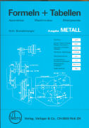 Cover-Bild zu Formeln und Tabellen - Metall
