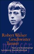 Cover-Bild zu Geschwister Tanner von Walser, Robert