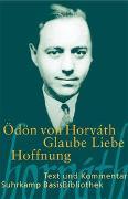 Cover-Bild zu Glaube Liebe Hoffnung von Horváth, Ödön