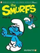 Cover-Bild zu Peyo: Smurfs Graphic Novels Boxed Set: Vol. #13-15, The