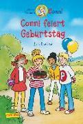 Cover-Bild zu Boehme, Julia: Conni-Erzählbände, Band 4: Conni feiert Geburtstag (farbig illustriert)