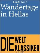 Cover-Bild zu eBook Wandertage in Hellas