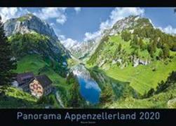 Cover-Bild zu Panorama Appenzellerland 2020 von Steiner, Marcel (Fotograf)