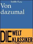 Cover-Bild zu eBook Von dazumal
